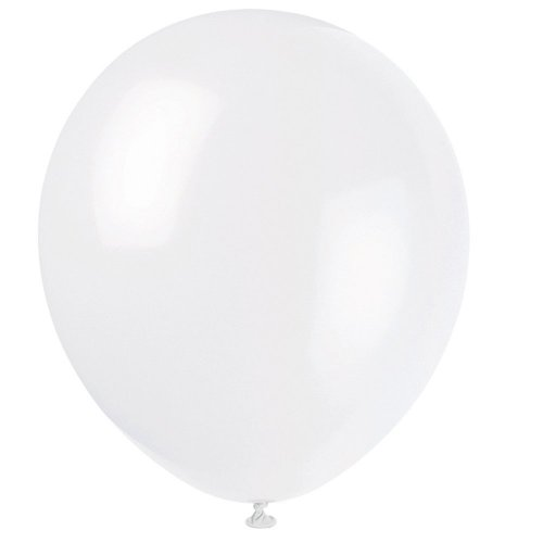 "P1050W 12"" Balloon Ivory (12pcs)"