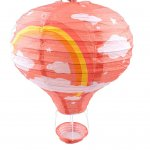 "JQ-9AO 12"" Fire Balloon Lantern Orange"