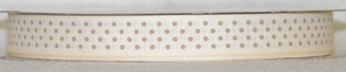 DT417-050 #C11 Ivory w/Toffee Dots