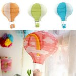 "16"" Fire Balloon Lantern"