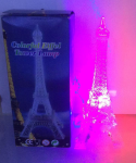 15 CM CLEAR + LIGHT EIFFEL TOWER 1 PC