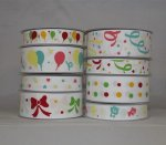 Grosgrain Printed Ribbons