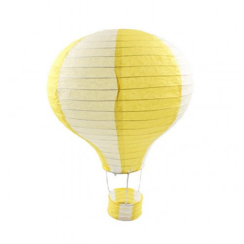 "JQ-9AY 12"" Fire Balloon Lantern Yellow"