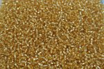 Seed Beads -11/0 size #22D Gold 1/6Pound