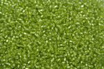 Seed Beads -11/0 size #24 Metal Apple Green 1Pound