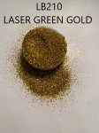 LB210 Laser Green Gold (0.3MM) 500G BAG