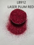 LB912 Laser Plum Red (0.3mm) 500G BAG