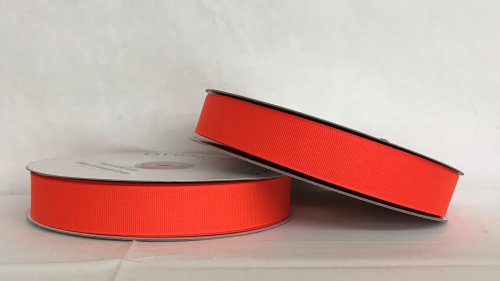 "5/8"" SATIN #025 Neon Red"