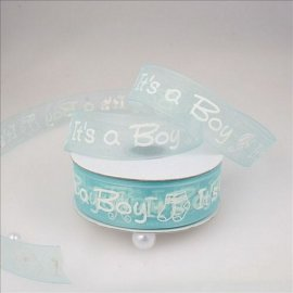 Printed Organza Ribbons